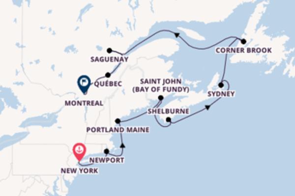 11-daagse cruise met de Insignia vanuit New York