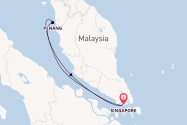 Cruise from Singapore with the Voyager of the Seas