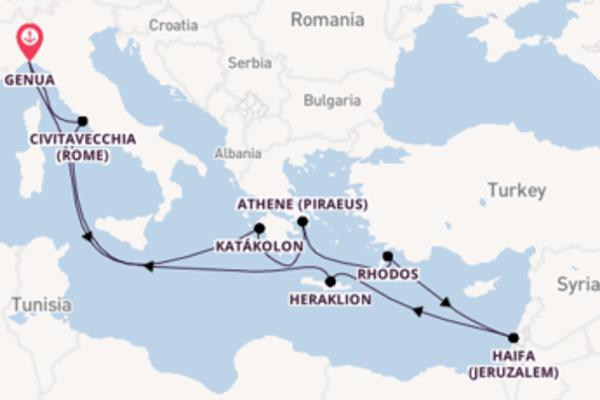 Cruise met MSC Cruises naar het verrassende Genua