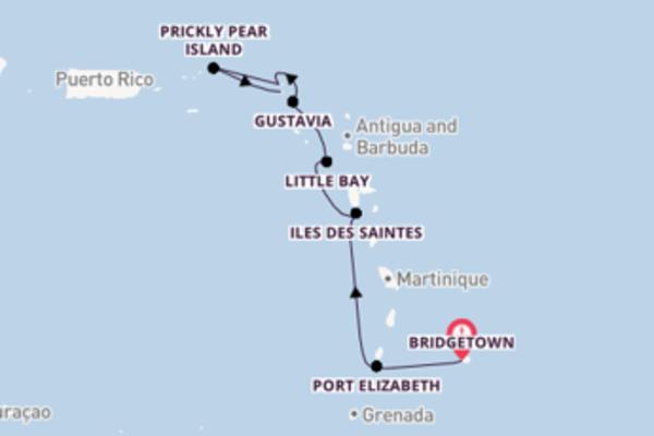 Verken Bridgetown, Iles des Saintes en Marigot
