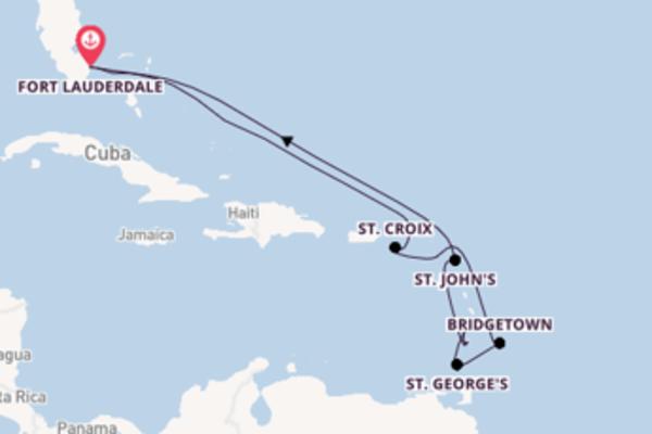 Bewonder de parels van St. Croix