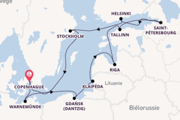 12 jours pour découvrir Riga à bord du beateau MSC Poesia