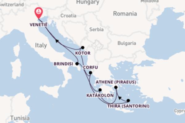 Aanschouw Brindisi met MSC Cruises