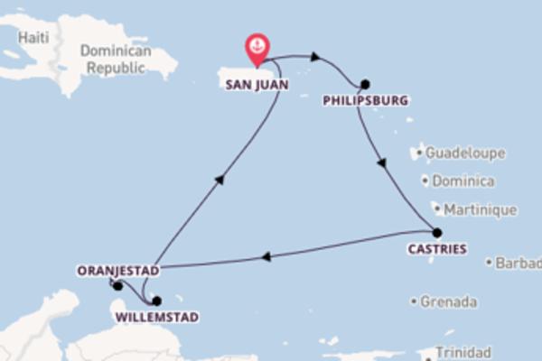 8-daagse reis naar San Juan
