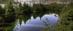 Wunderbare Landschaft Alaskas