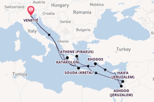 13-daagse cruise met de Westerdam vanuit Venetië