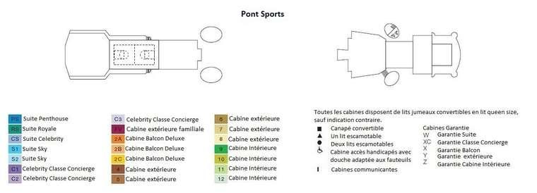 Celebrity Infinity Pont 12 Sports