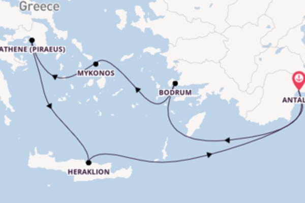 In 8 dagen naar Antalya