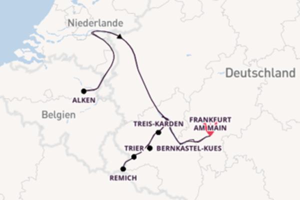 Einmalige Reise ab Frankfurt am Main