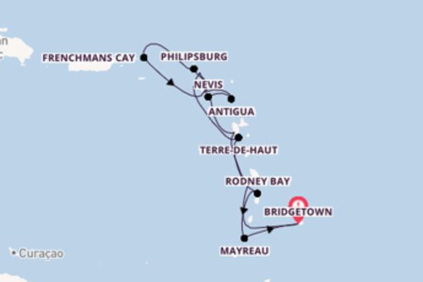 15-daagse reis aan boord van de Seabourn Odyssey