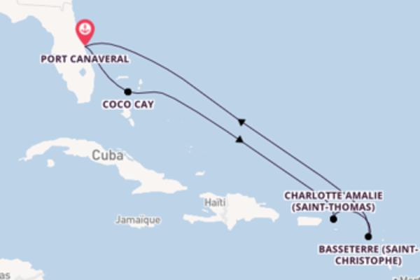 Dépaysante balade de 8 jours pour découvrir Charlotte Amalie