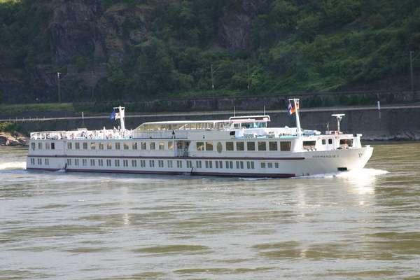 Mit der MS Normandie 2020 auf dem Rhein nach Holland