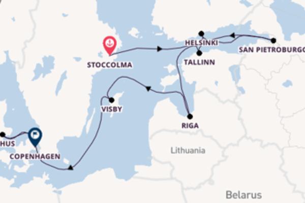 Salpando i mari da Stoccolma