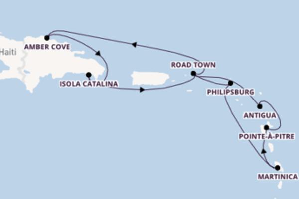 11 giorni verso La Romana passando per Antigua
