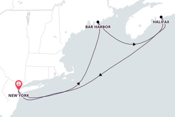 Wonderful Bar Harbor from New York with Norwegian Breakaway