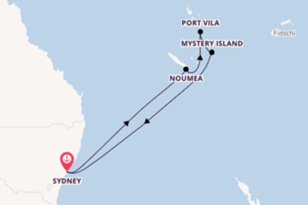 Zauberhafte Reise ab Sydney