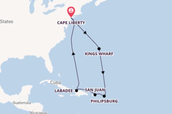 San Juan bezoeken met de Adventure of the Seas®