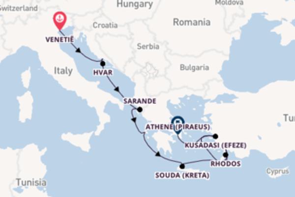 Cruise met Holland America Line naar Souda (Kreta)