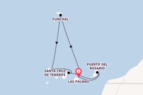 Wundervolle Kreuzfahrt mit der Mein Schiff 4