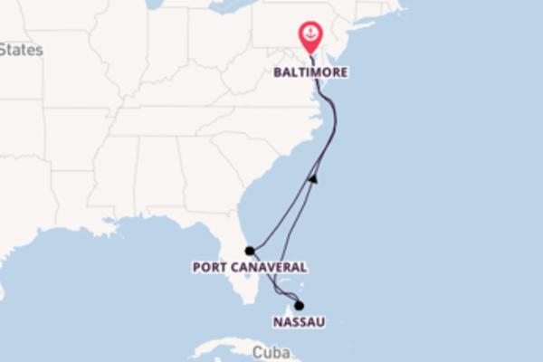 Cruising from Baltimore via Nassau
