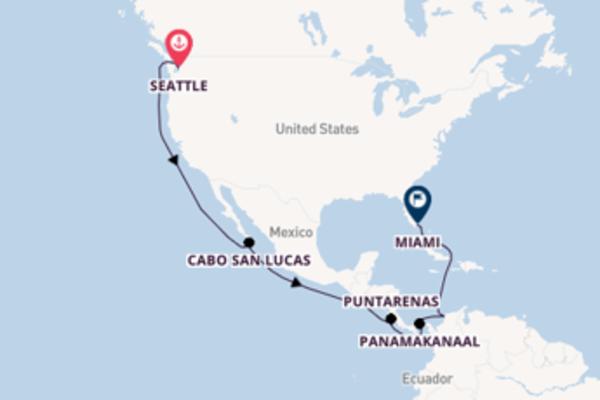 Aanschouw het sfeervolle Panamakanaal