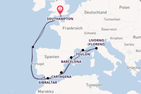 Begeisternde Reise mit der Britannia
