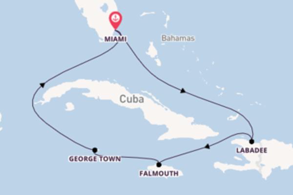 Crociera di 7 giorni a bordo di Jewel of the Seas