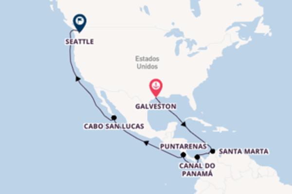 18 dias navegando a bordo do Carnival Freedom
