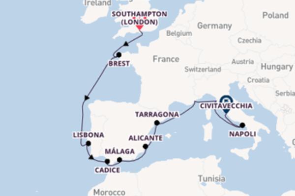 Fare rotta verso Livorno a bordo di Norwegian Escape