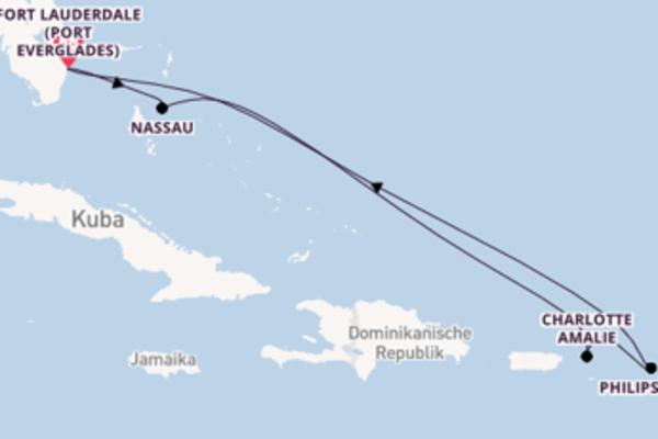 Genießen Sie Charlotte Amalie auf der Celebrity Reflection