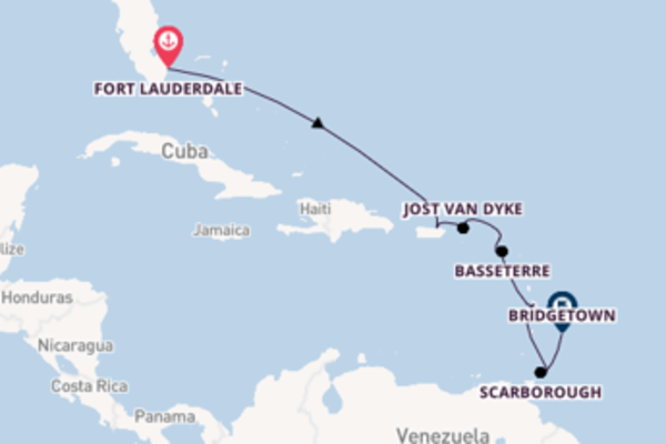 Cruise met Silversea naar het wonderschone Bridgetown