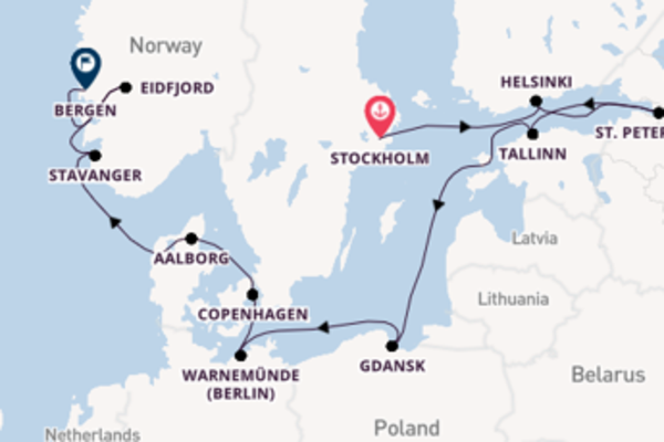Expedition with Viking Ocean Cruises from Stockholm