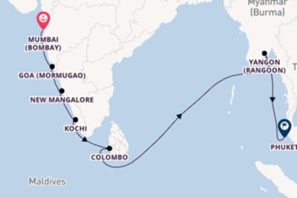 Ga mee op de Silver Spirit naar Phuket