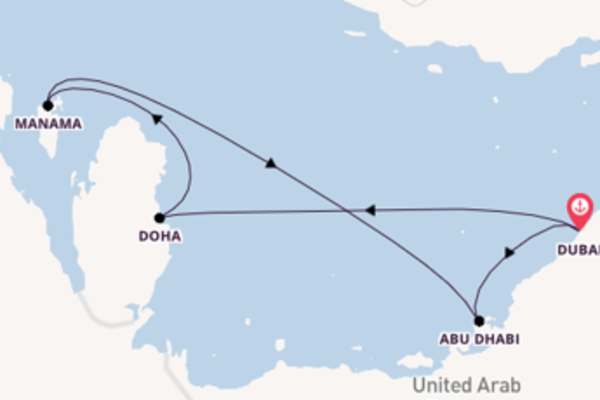 8-daagse reis naar Dubai