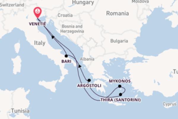 Ga mee op de Costa Deliziosa naar Venetië