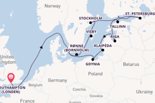 Cruise met Princess Cruises naar St. Petersburg