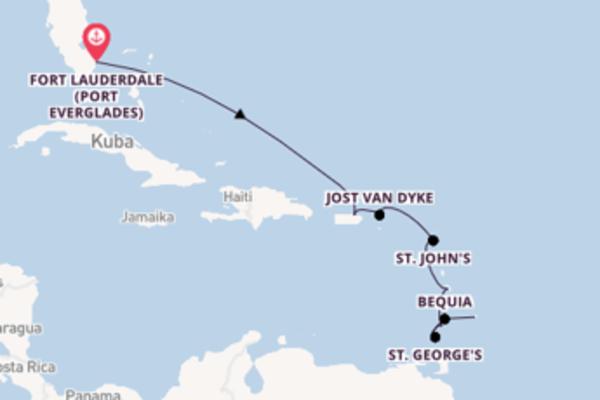 Entdecken Sie San Juan ab Fort Lauderdale (Port Everglades)