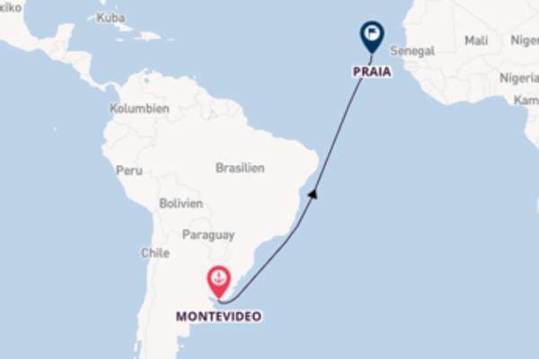 Einzigartige Reise nach Praia