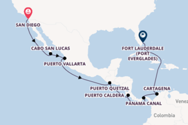 Sailing from San Diego to Fort Lauderdale (Port Everglades)