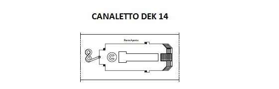 Costa Magica Dek 14 Canaletto