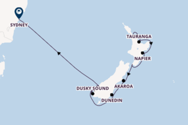 A bordo do Norwegian Spirit em um cruzeiro de 11 dias