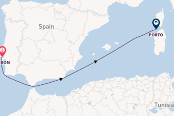 Voyage from Lisbon with the MS Miguel Torga
