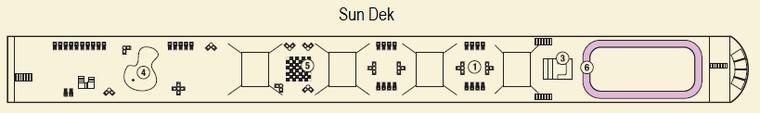 MS Amadeus Silver Sun Dek 1