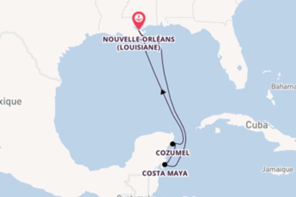 Explorez avec Carnival Cruise Lines, la destination: Cozumel