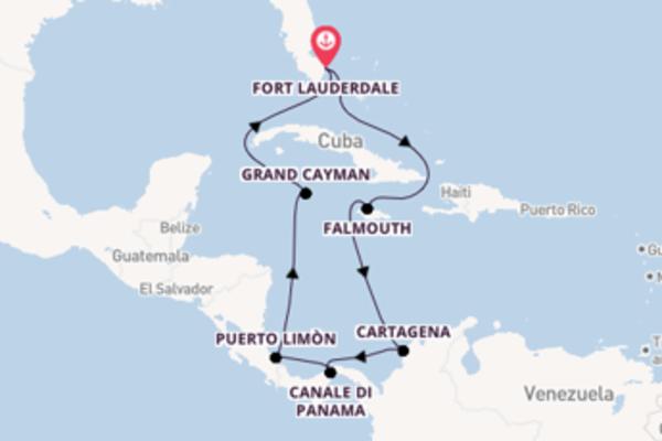 Lasciati conquistare da Cristóbal arrivando a Fort Lauderdale