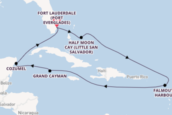 Cruise with Holland America Line  from Fort Lauderdale (Port Everglades)