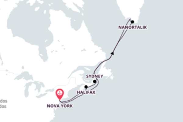 A bordo do Caribbean Princess em uma viagem de 17 dias