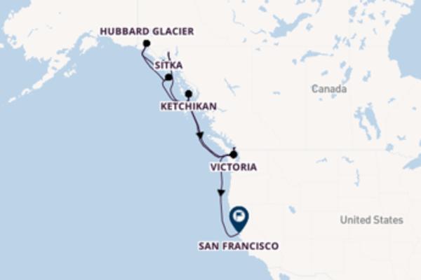 Cruising from Vancouver via Ketchikan