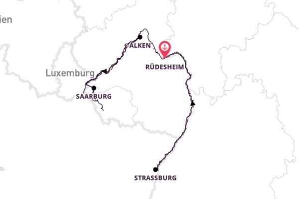 Wandern an Rhein, Mosel und Saar
