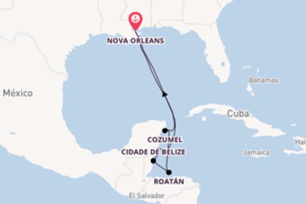 Empolgante viagem de 9 dias a bordo do Majesty of the Seas